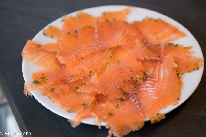 Graved Lachs in 10 Minuten